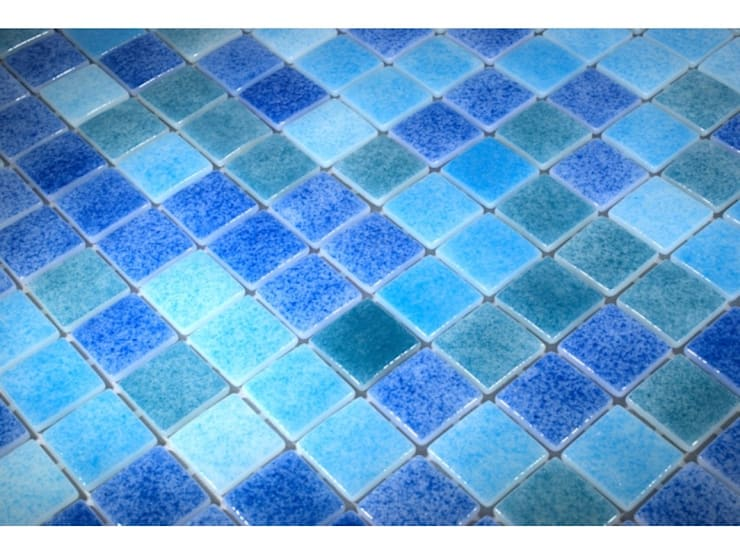 Swimming Pool Mosaic Tiles von The Mosaic Company | homify