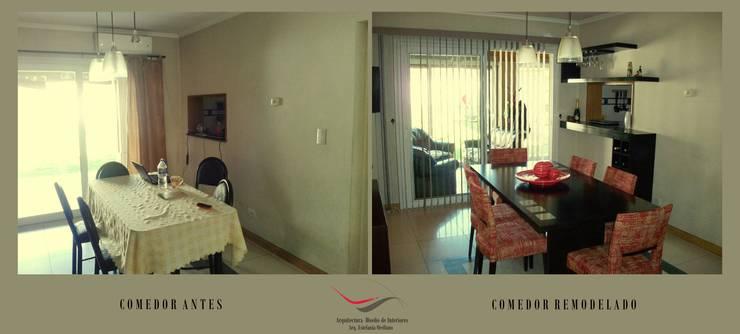 Comedor:  de estilo  por Arq-Diseño Interior