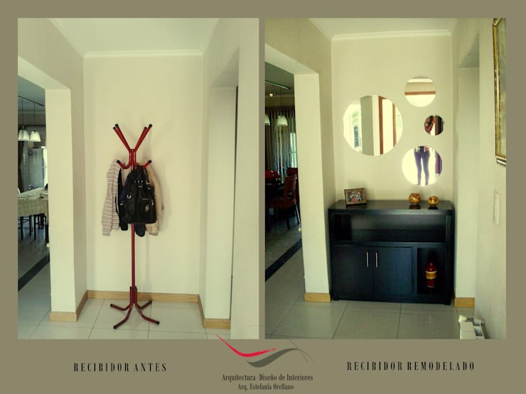 Remodelación Estar-Comedor:  de estilo  por Arq-Diseño Interior