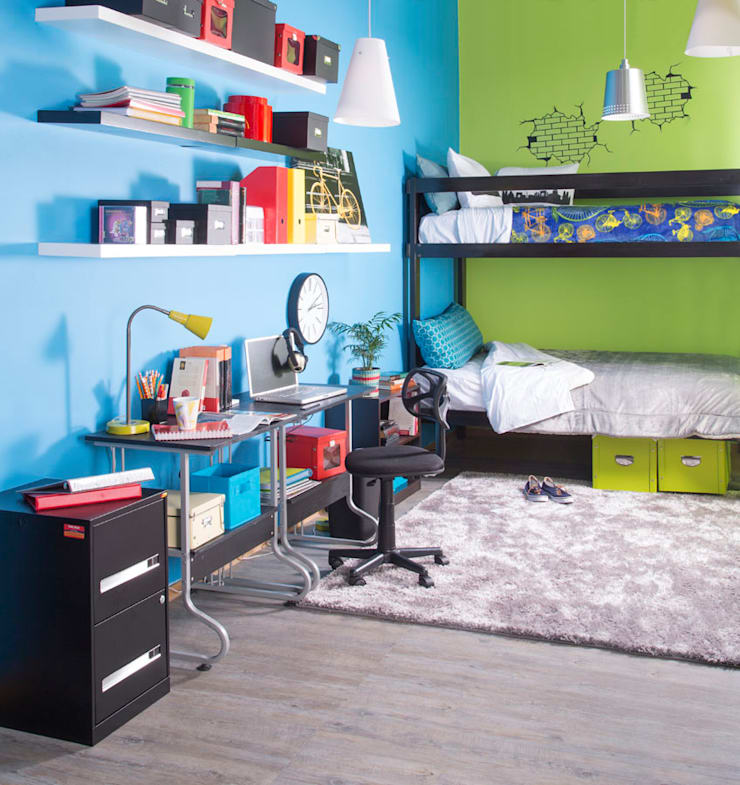 Recámara infantil : Recámaras de estilo  por Idea Interior