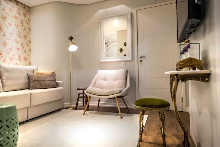 Salas de estilo  por Falchetti Photo Concept