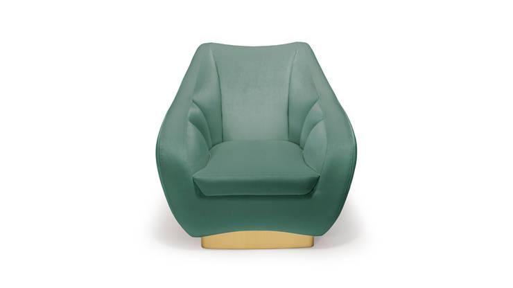 Figueroa armchair : Casa  por INSIDHERLAND