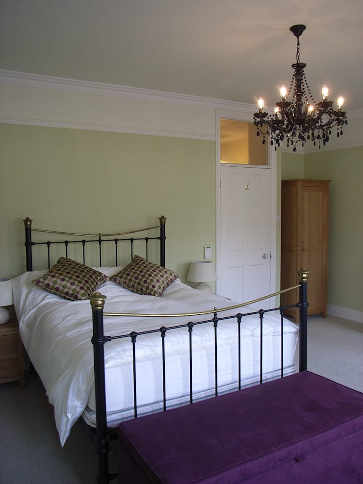 Traditional Bedroom Setting:  Bedroom by Style Within,