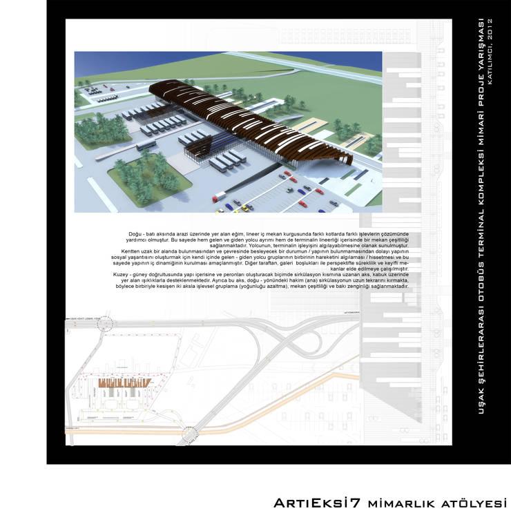ArtıEksi7 Mimarlık Atölyesi – Uşak Şehirlerarası Otobüs Terminal Kompleksi Yarışması, 2012:  tarz