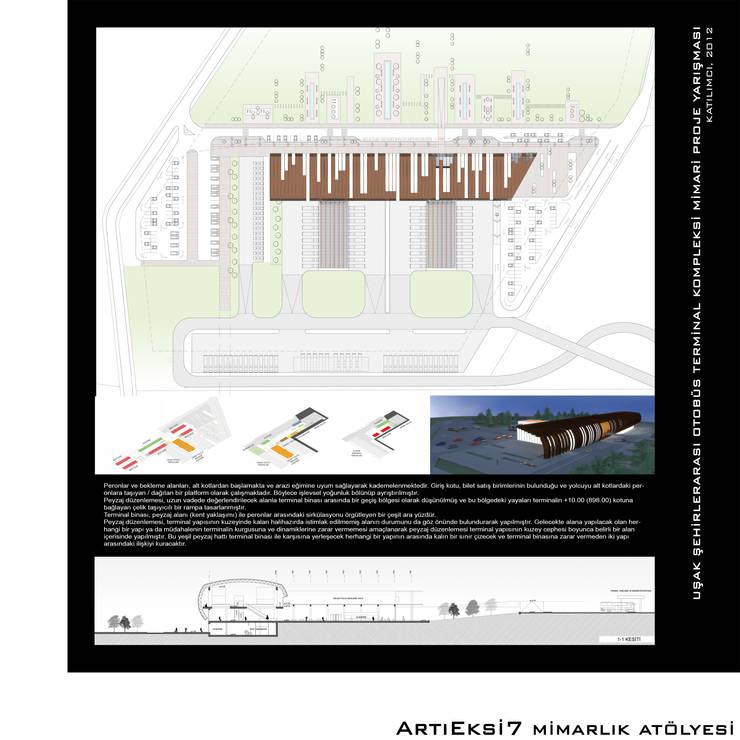 ArtıEksi7 Mimarlık Atölyesi – Uşak Şehirlerarası Otobüs Terminal Kompleksi Yarışması, 2012: modern tarz , Modern