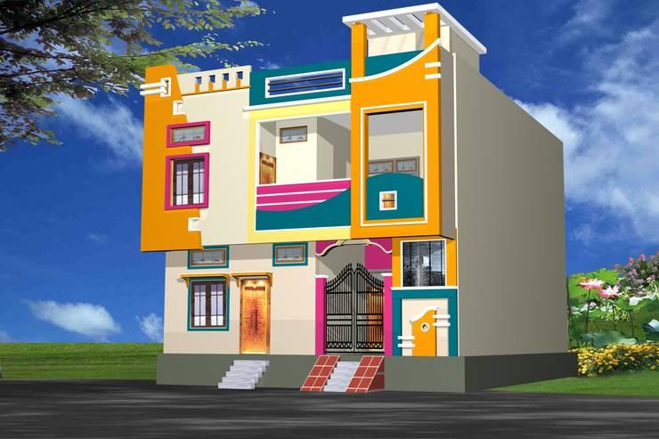simroz palace:  Houses by MADINA ASSOCIATES