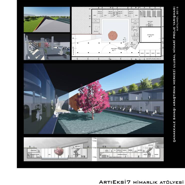 ArtıEksi7 Mimarlık Atölyesi – Çanakkale Savaşı Araştırma Merkezi Mimari Proje Yarışması, 2015:  tarz