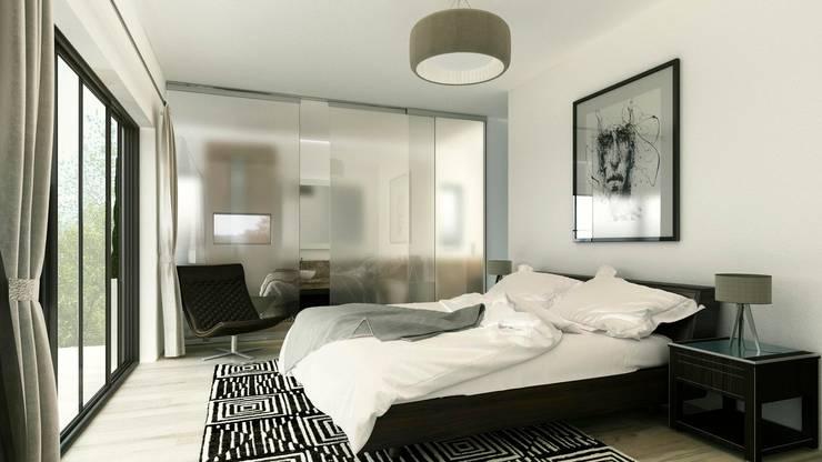غرفة نوم تنفيذ ARQUETERRA