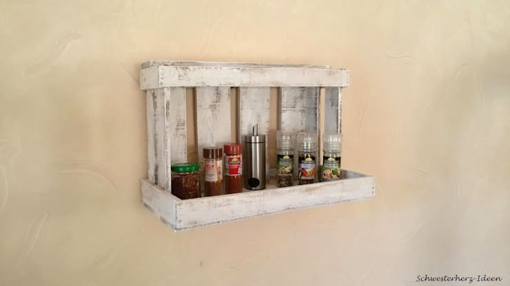 Vintage Möbel aus Weinkisten, Bauholz & Fensterdeko von ...