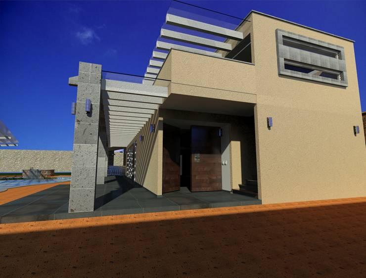 Anexo casaFausto: Casas de estilo  por CESAR MONCADA S