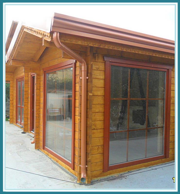 Casedilegnosr case di legno block house homify for Homify case