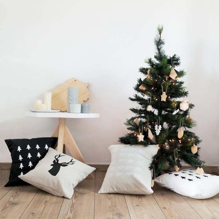Navidad: Hogar de estilo  de Inuk Home