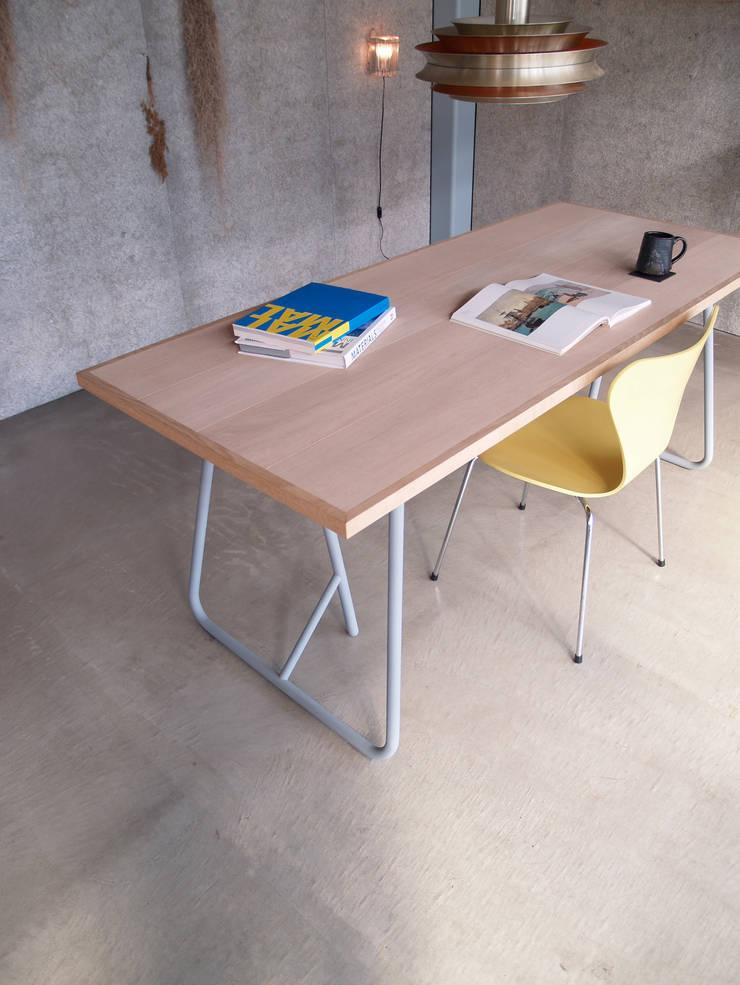 UMA/Table: Kazunaga Sakashita/CRITIBA DESIGN+DIRECTIONが手掛けたダイニングルームです。,