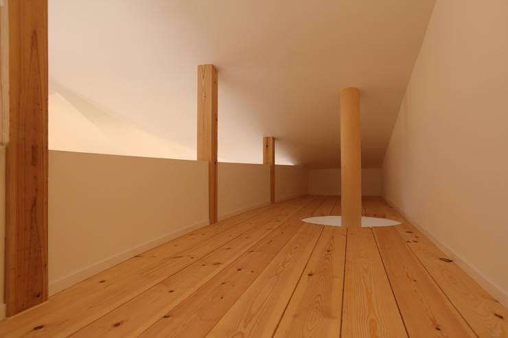 ロフト: nano Architectsが手掛けた和室です。