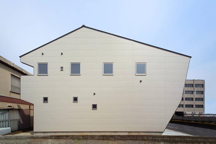 外観―南面: nano Architectsが手掛けた家です。