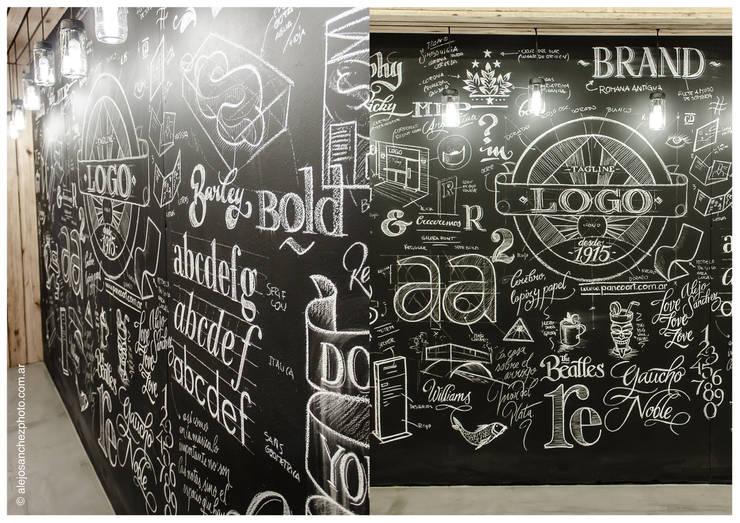 SECTOR PIZARRA: Estudios y oficinas de estilo  por G7 Grupo Creativo