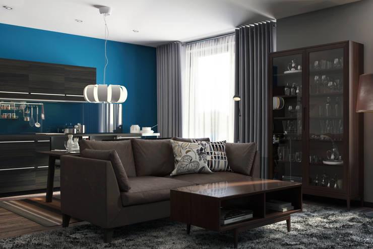 IKEA: Salones de estilo  de Artur Akopov