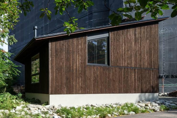 外観2: キタウラ設計室が手掛けた家です。