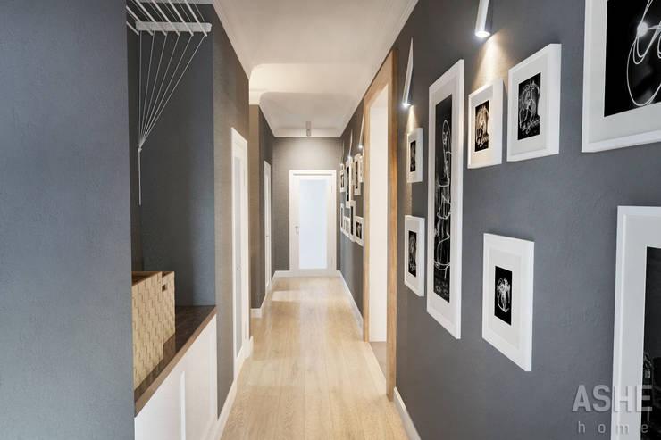 Лофт в Акбердино: Коридор и прихожая в . Автор – Студия авторского дизайна ASHE Home