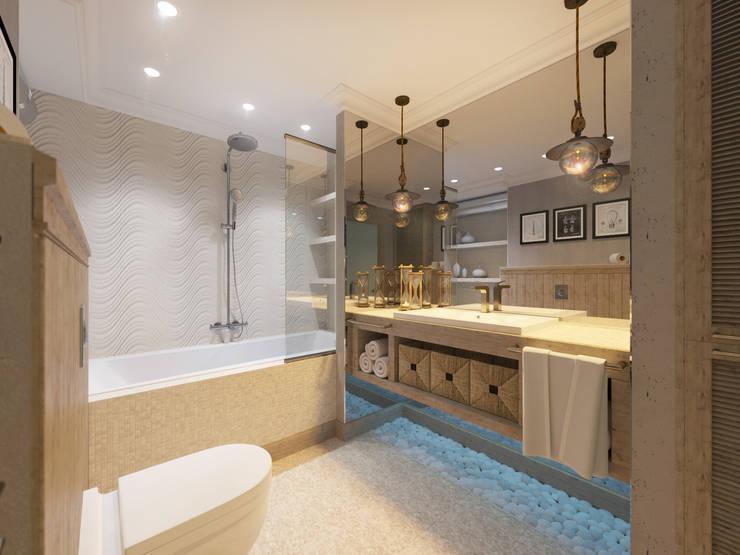 حمام تنفيذ Студия авторского дизайна ASHE Home