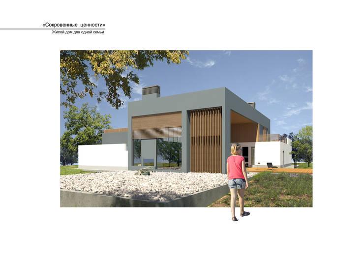 Дом Эрмитаж: Дома в . Автор – ALEXANIN ARCHITECTURE