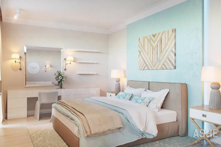 Bedroom by Студия авторского дизайна ASHE Home