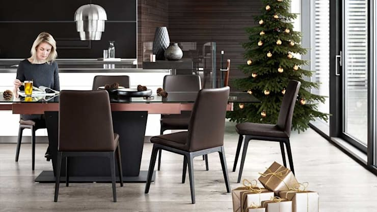 Christmas:  Dressing room by BoConcept Bristol