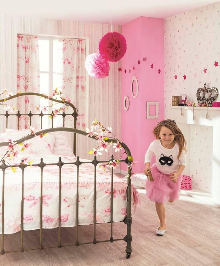 Papel de parede Libélulas: Quarto de crianças  por 1/4 de Sonho