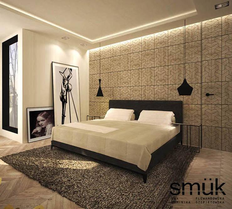 Sypialnia: styl , w kategorii Sypialnia zaprojektowany przez SMUK