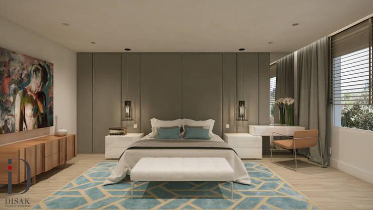 Kamar Tidur oleh Disak Studio , Modern