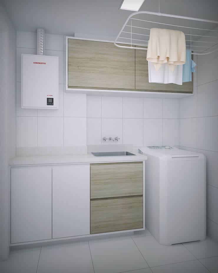 Apartamento #101: Cozinhas  por studio vtx