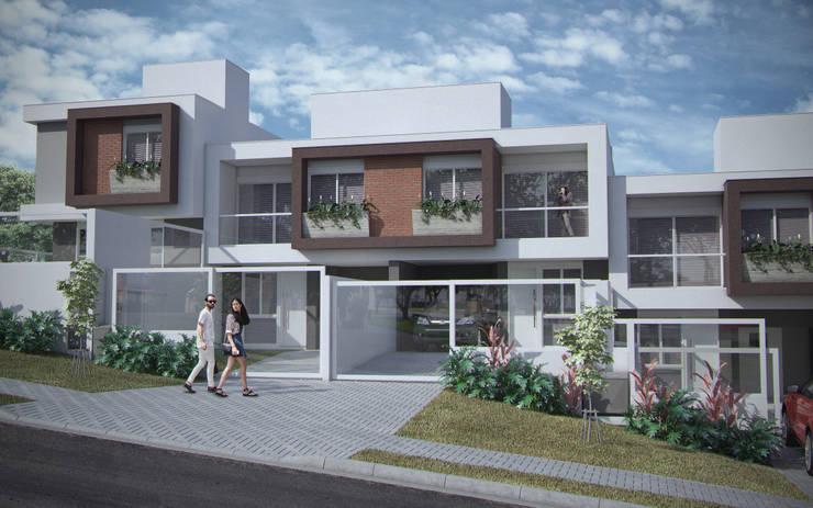 Residencial Uberaba: Casas  por studio vtx