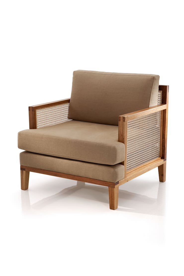 Poltrona FEIX: Sala de estar  por LLUSSÁ Mobiliário de design