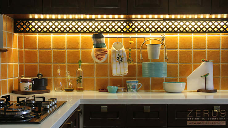 task lighting for kitchen:  Kitchen by ZERO9