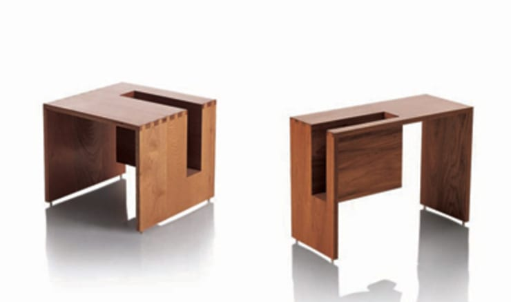 Mesa lateral JOC: Sala de estar  por LLUSSÁ Mobiliário de design