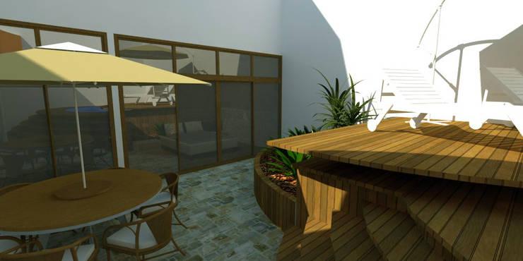 Jardim no Loft: Jardins  por Studio 21