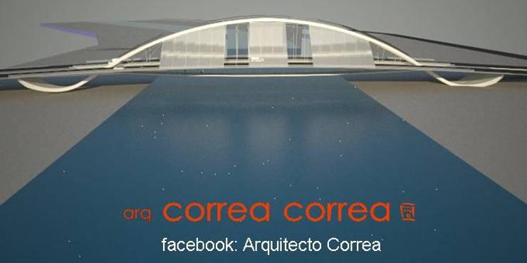 puente Santiago – La banda:  de estilo  por Arq. Jose F. Correa Correa,