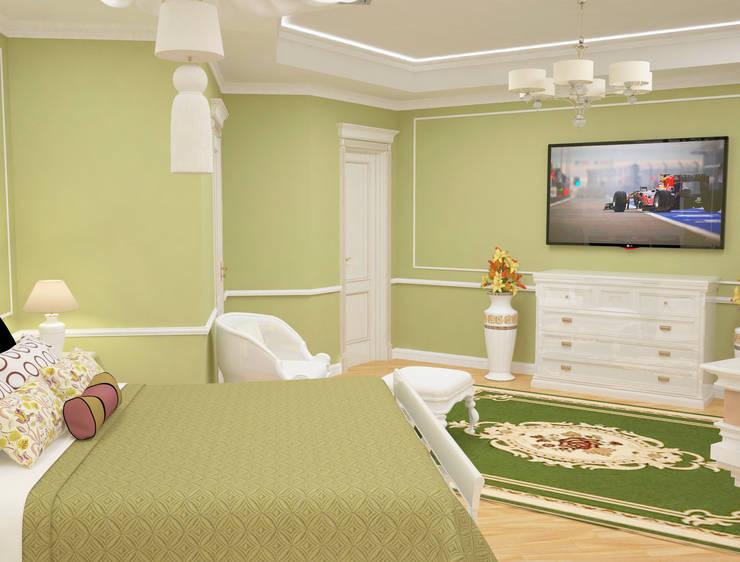 Спальня: Спальни в . Автор – DONJON