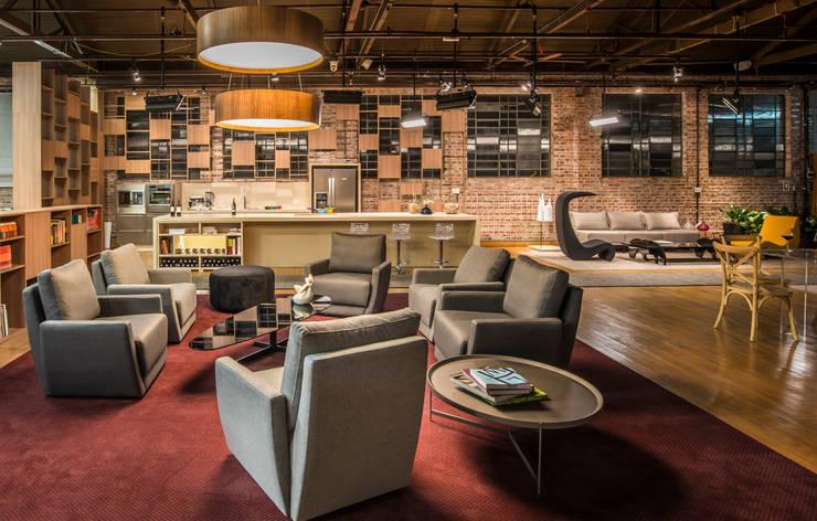 Anexo Gazeta do Povo - Lounge Viver Bem e Cozinha Bom Gourmet: Locais de eventos  por Yara Mendes Arquitetura e Decoração