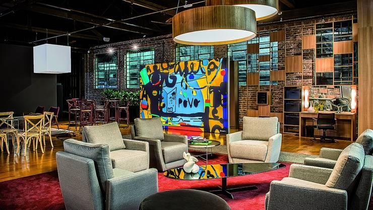 Anexo Gazeta do Povo - Lounge Viver Bem: Locais de eventos  por Yara Mendes Arquitetura e Decoração