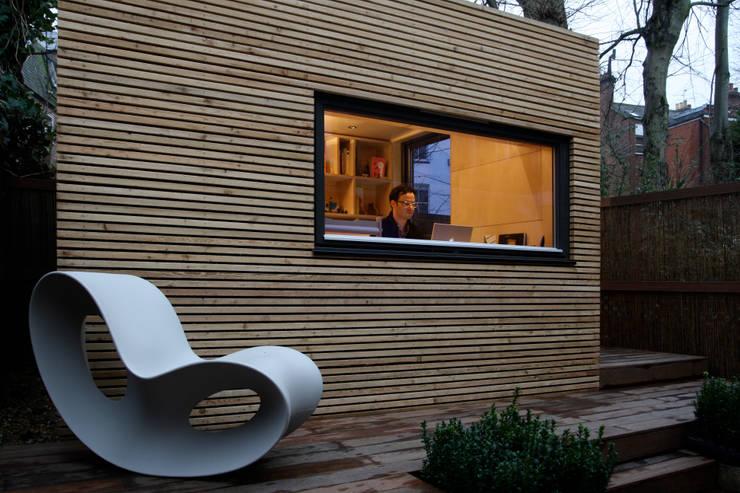 Projekty,  Domowe biuro i gabinet zaprojektowane przez ecospace españa