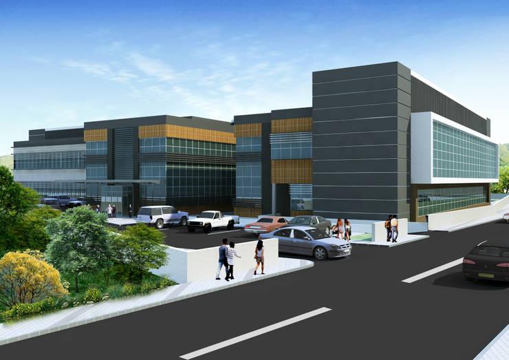 ArtıEksi7 Mimarlık Atölyesi – Afyon Başmakçı 25 Yataklı Devlet Hastanesi:  tarz Hastaneler, Modern