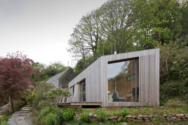 Projekty, nowoczesne Domy zaprojektowane przez ecospace españa