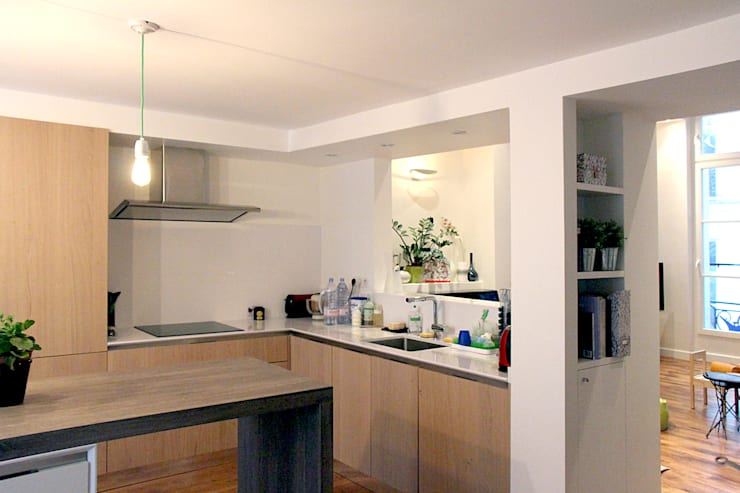 Cuisine: Cuisine de style de style Moderne par Olivier Stadler Architecte