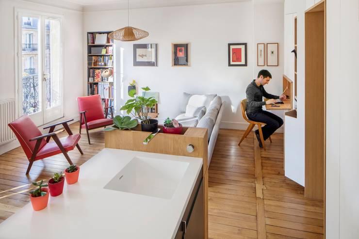 Salas de estar  por BKBS