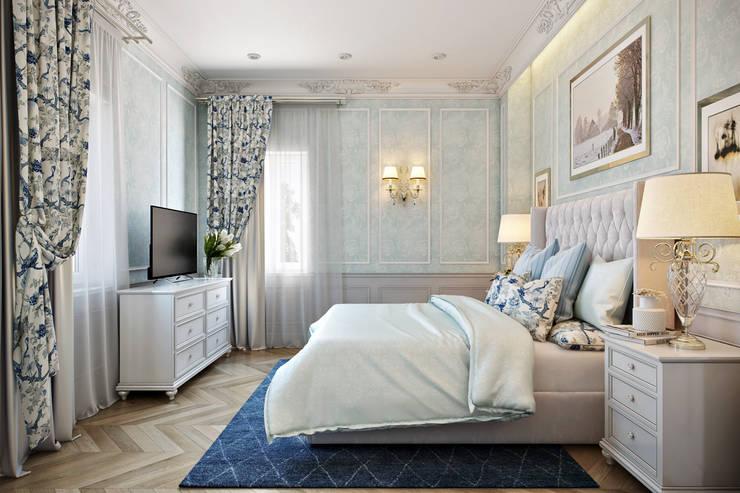Гостевая Спальня: Спальни в . Автор – Дарья Баранович Дизайн Интерьера