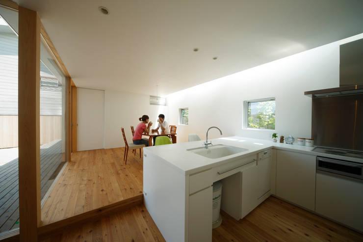 ダイニング: Mimasis Design/ミメイシス デザインが手掛けたキッチンです。