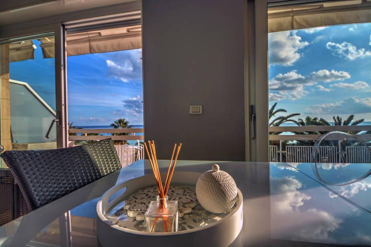 Emilio Rescigno - Fotografia Immobiliare: modern tarz Oturma Odası