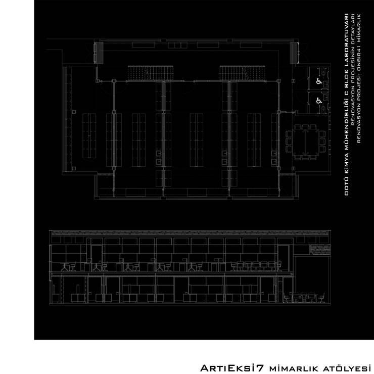 ArtıEksi7 Mimarlık Atölyesi – ODTÜ Kimya Mühendisliği C Laboratuvarı:  tarz Okullar