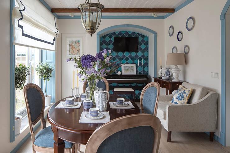 Mediterranean style: Гостиная в . Автор –  Ekaterina Kozlova